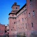 Ferrara, na região da Emilia-Romagna Itália