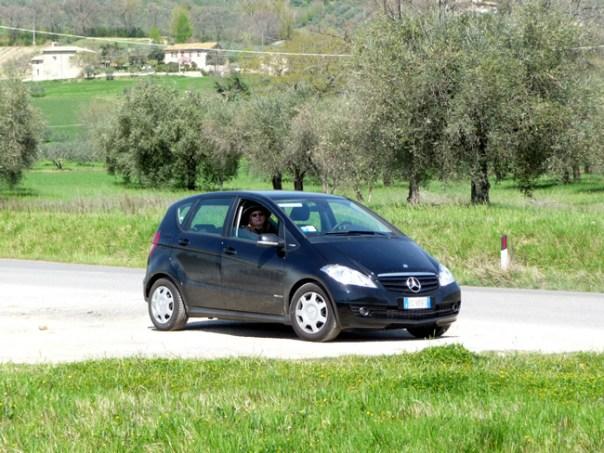 A Itália de carro