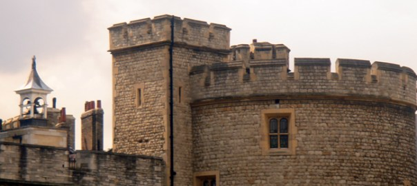 Torre de Londres, em estilo medieval