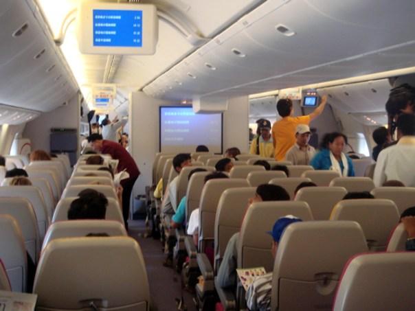 Avião da Thaiairways