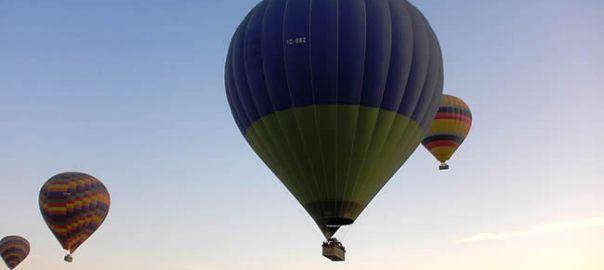 Balão em Goreme, Turquia