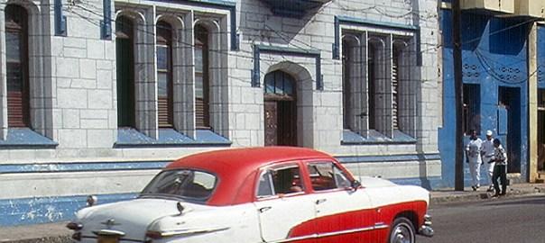 Carro antigo em Havana