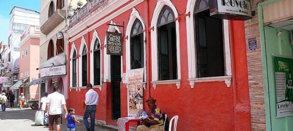 Ilheus, Rua Jorge Amado, uma homenagem ao escritor