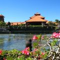 Jardins do resort Ayodya, Bali, Ayodya
