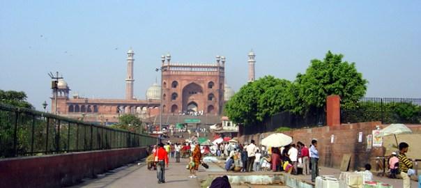 Mesquita Jamah Machid, Velha Delhi, Índia