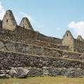 Construções de pedra em Machu Picchu, Peru