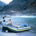 Nepal, rafting no rio Naraiani