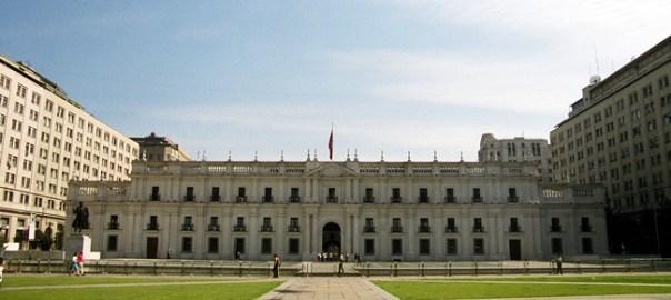 Palacio de la Moneda, Santiago, Chile