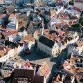 Panorâmica de Tallinn, Estônia