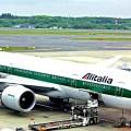 Avião da Alitália - Foto lkarasawa CCBY