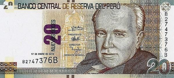 Peru, moeda