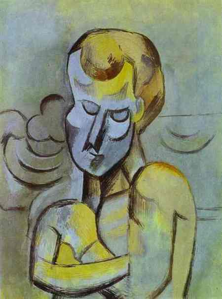 Pablo Picasso - Man with Arms Crossed