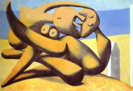 Pablo Picasso - Figures on a Beach