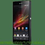 Sony Xperia ZL manual guia usuario banco de imagenes vps accesorios smartphones