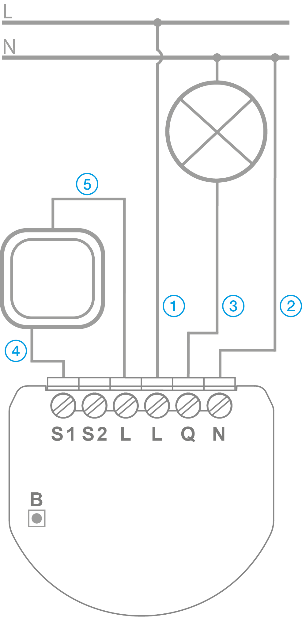click icon switch wiring diagram