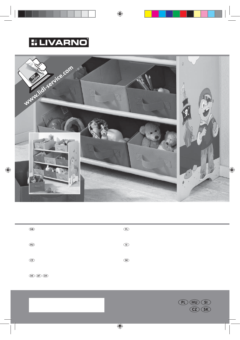 Livarno Kinderregal Livarno Z31593a Z31593b User Manual 12 Pages