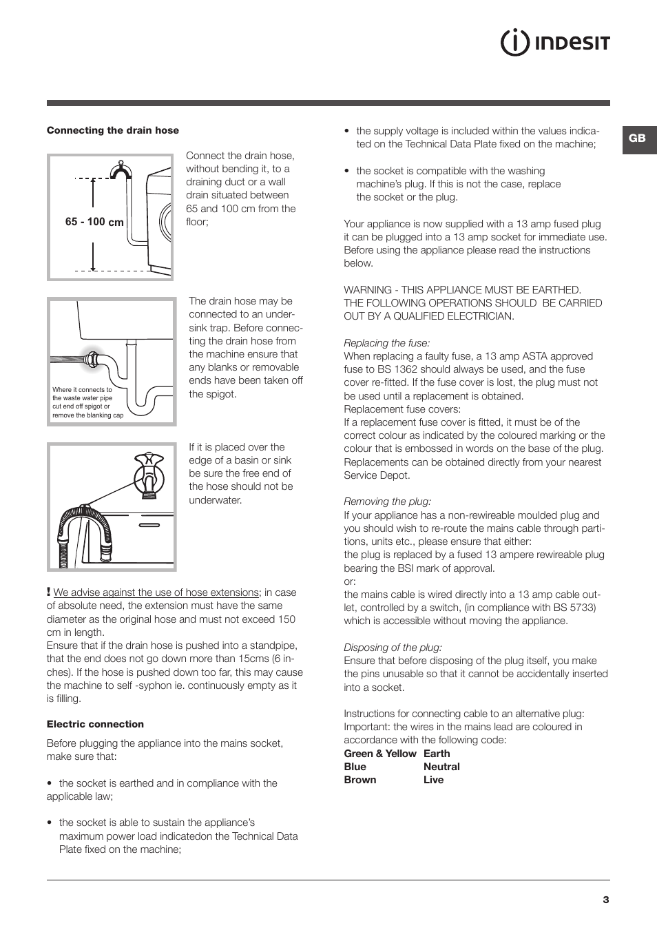 Indesit Iwdc 6125 Indesit Iwdc 6125 S User Manual Page 3 16 Original Mode