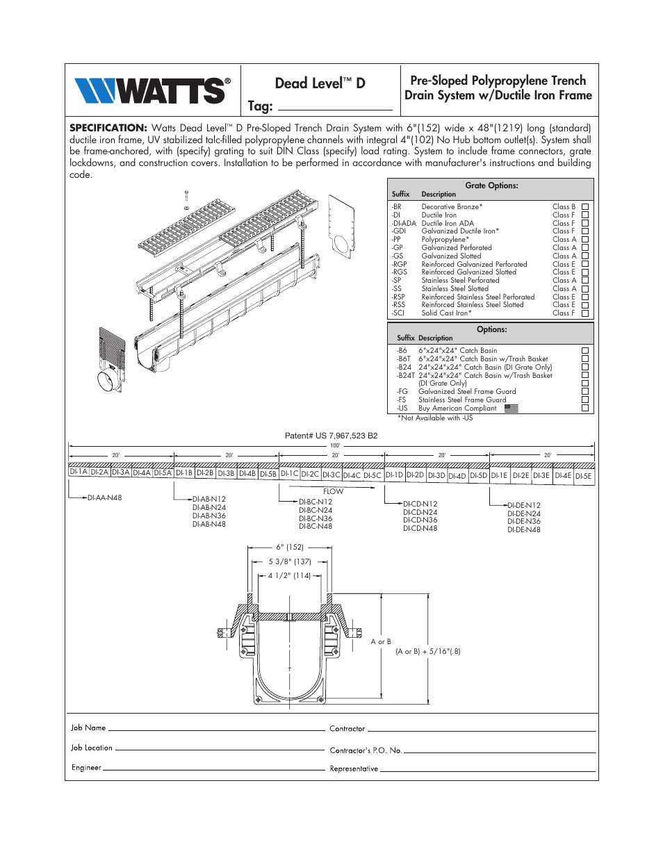 N24 D Watts Dead Level D User Manual 2 Pages