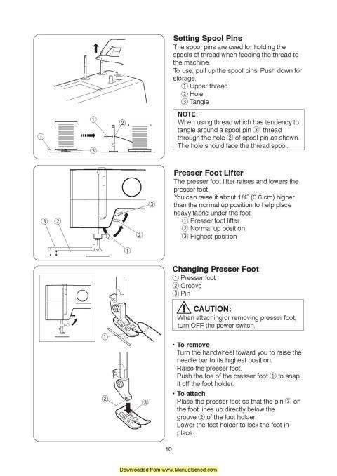 Janome 15822 Sewing Machine Instruction Manual - instruction manual