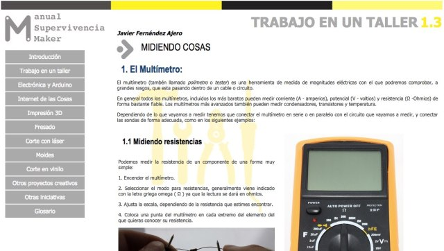 Captura del Manual