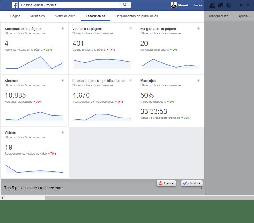 como conocer el perfil de tus lectores de facebook si eres escritor 1