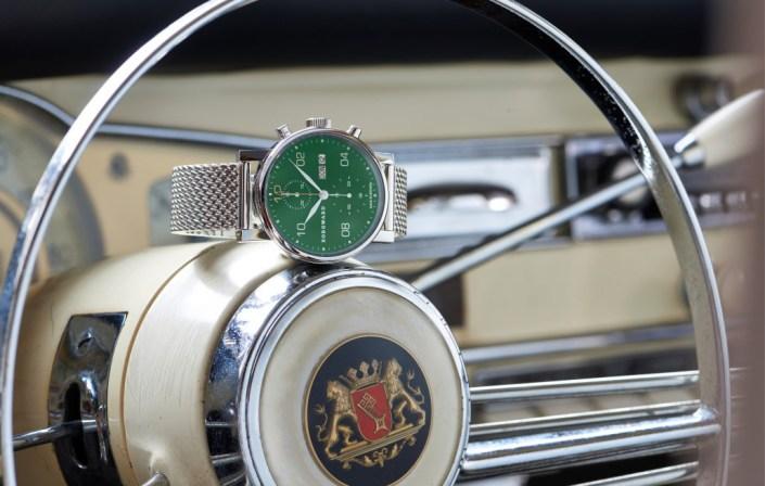 """Manufakturen-Blog: Borgward-Uhr """"Made in Bremen"""" im Borgward (Foto: Borgward Zeitmanufaktur)"""