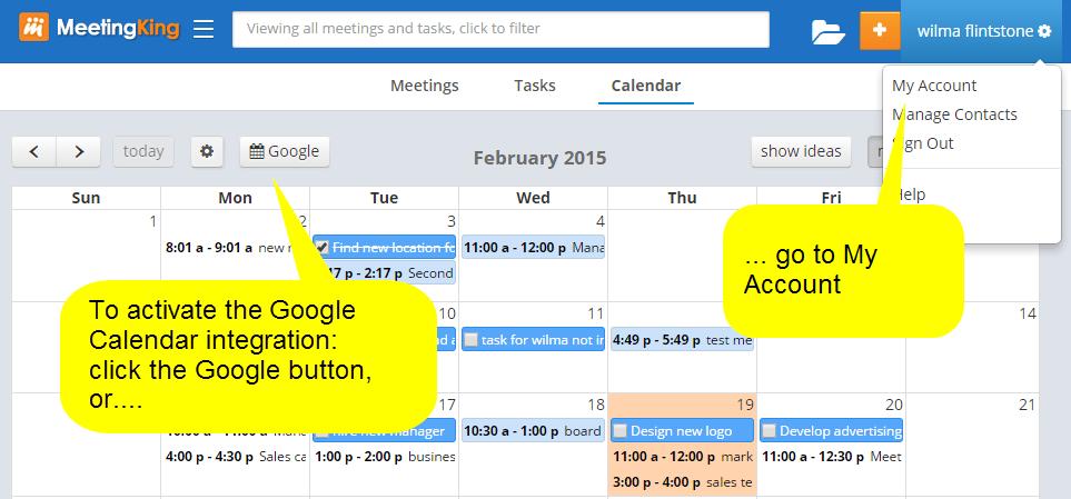 Make Google Calendar Not Syncing Google Drive Help Connecting Google Calendar To Meetingking Pro