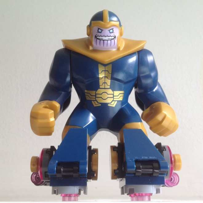 Thanos LEGO figure Avenjet Space Mission