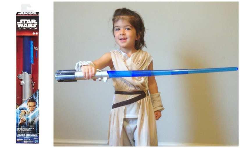 Starkiller Base Rey Lightsaber Toy Review
