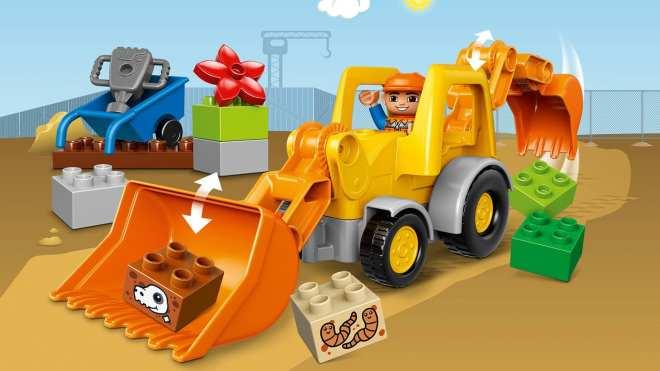 LEGO DUPLO Backhoe Loader 10811