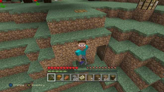 our-first-minecraft-shelter-dug-into-the-side-of-the-hill