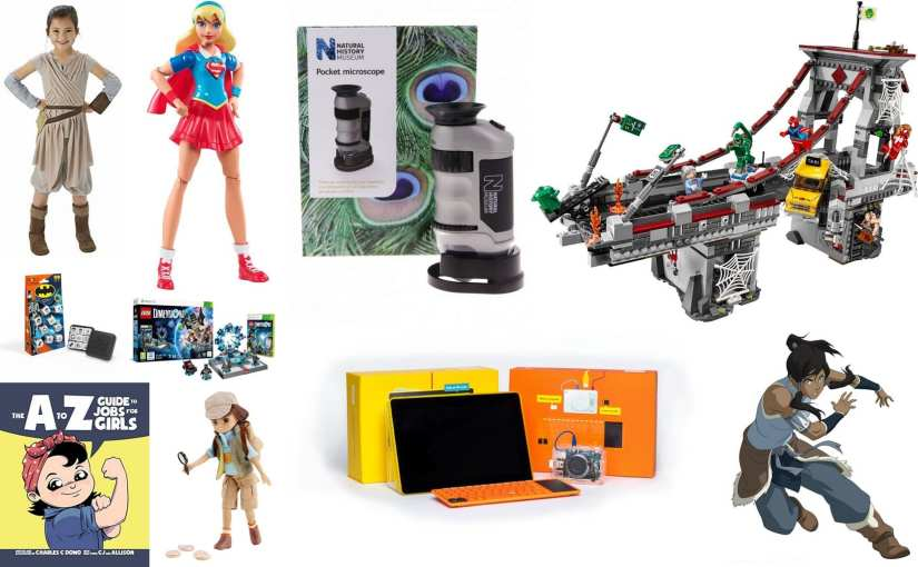 The Man vs. Pink Alternative Christmas Gift Guide For Girls (and Boys)