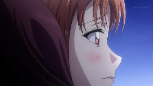 梨子に抱きつかれる千歌ちゃん