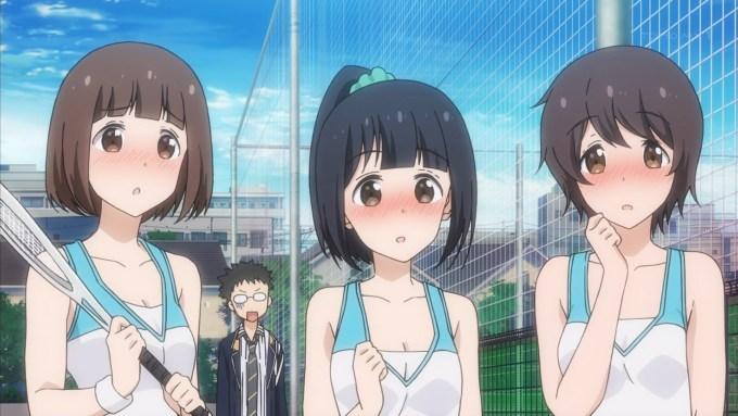 テニス部モブ(第1話画像)