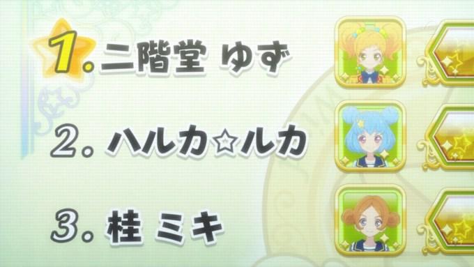 二階堂ゆずとハルカ☆ルカ(アイカツスターズ46話画像)