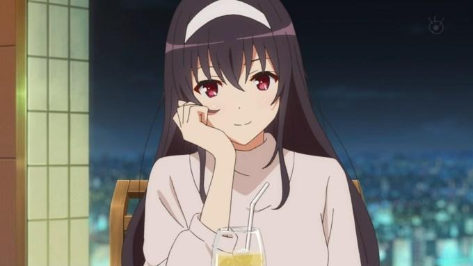 霞ヶ丘詩羽(冴えない彼女の育てかた♭2期画像)