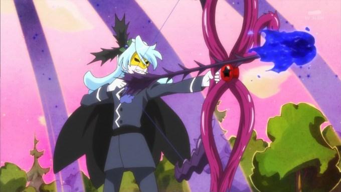ジュリオの弓矢(キラキラプリキュアアラモード13話画像)