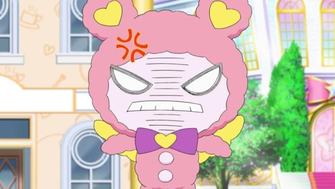 怒るクマさん(アイドルタイムプリパラ5話画像)