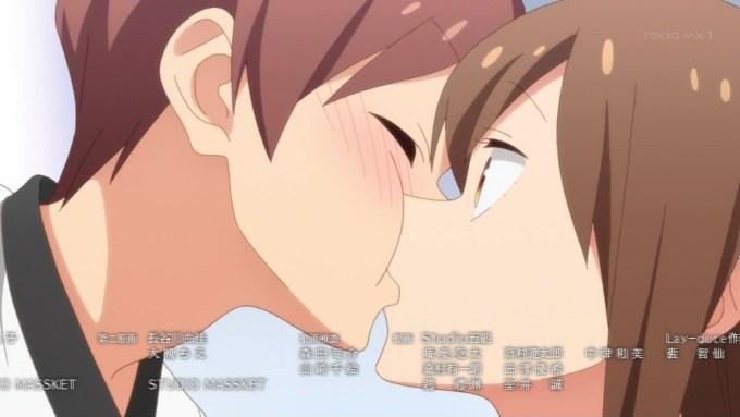 内村千秋と飯島香菜のキス