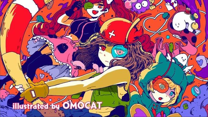 OMOCATさん作のエンドカード