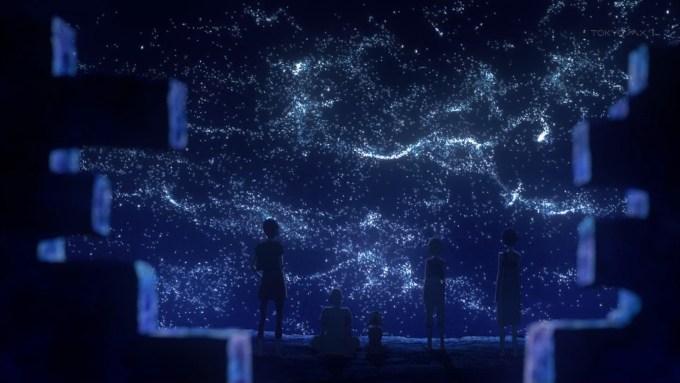 星々バッタの飛行現象