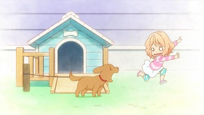 犬に吠えられる香澄真昼