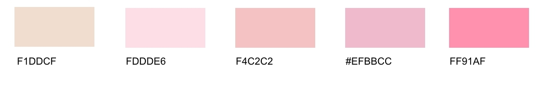 Pink Tones List of Different Shades with Names Many Interesting Facts