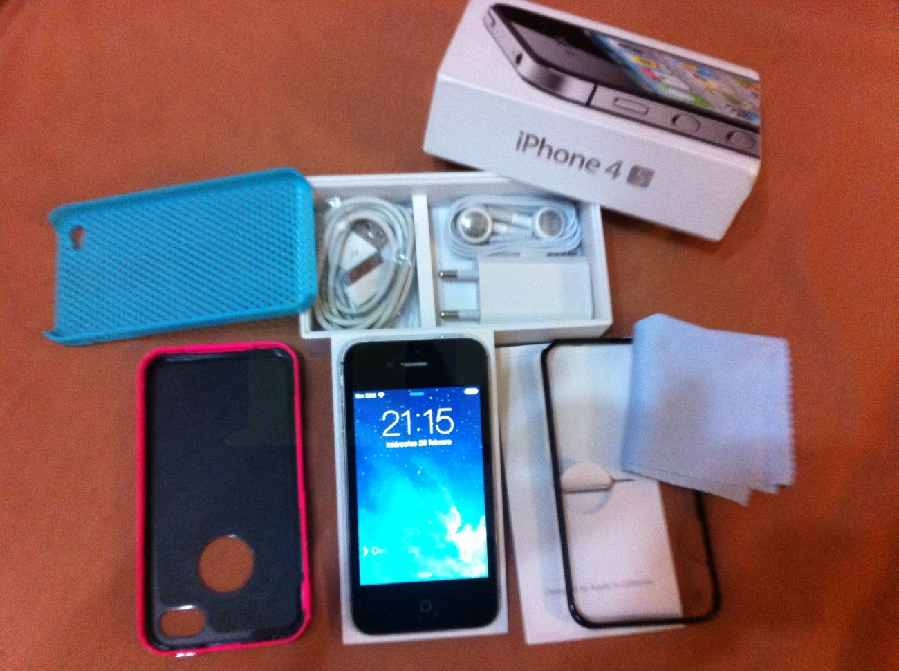 Iphone 4s 16gb Libre Venta Iphone 4s 16gb Color Negro Libre Y Perfecto Venta