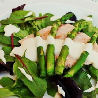 asparagussalmonsalad