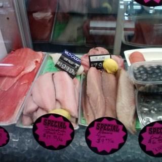 Fresh Wild Sockeye, Albacore, Black Cod, Rockfish & Pacific Cod