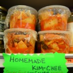 Ms. Kim's fresh, homemade Kim-chee!