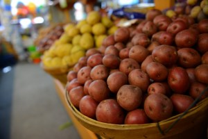 os, es? :) Potatoes! 3lb Bags of Organic Russet Potatoes on sale this weekend!