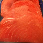 Sashimi grade Yellowfin Tuna, available in our seafood case! Pairing perfectly with..