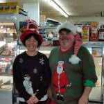 Greg and Judy rocking this Christmas season!
